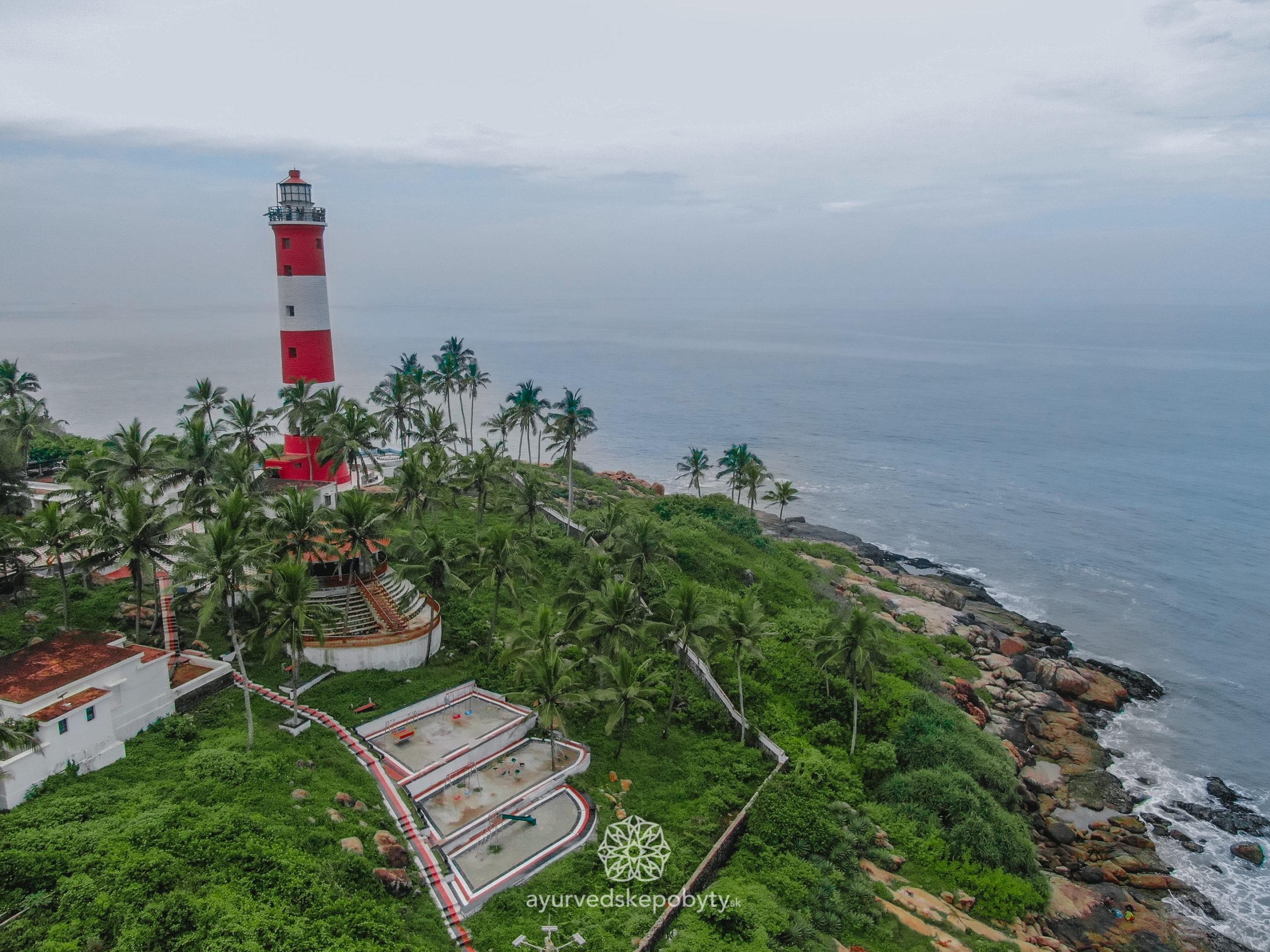 Vizhinjam Lighthouse- Kovalam Beach